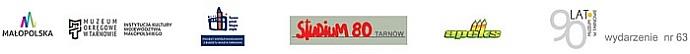 STUDIUM 80 - jubileuszowa wystawa absolwentów Państwowego Zawodowego Studium Konserwacji Dzieł Sztuki wTarnowie (lata 1980-1982) + logo