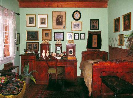 Ekspozycja stała w Muzeum Pamiątek po Janie Matejce