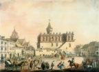 Ratusz w Tarnowie - widok historyczny