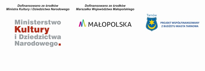 """Artysta """"Szlaku nadziei"""" zakup kolekcji wojennej Stanisława Westwalewicza - logo dofinansowanie"""