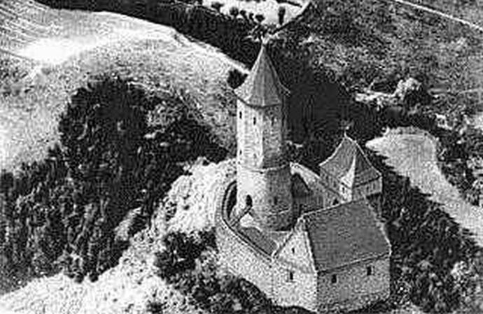 Zamek wCzchowie
