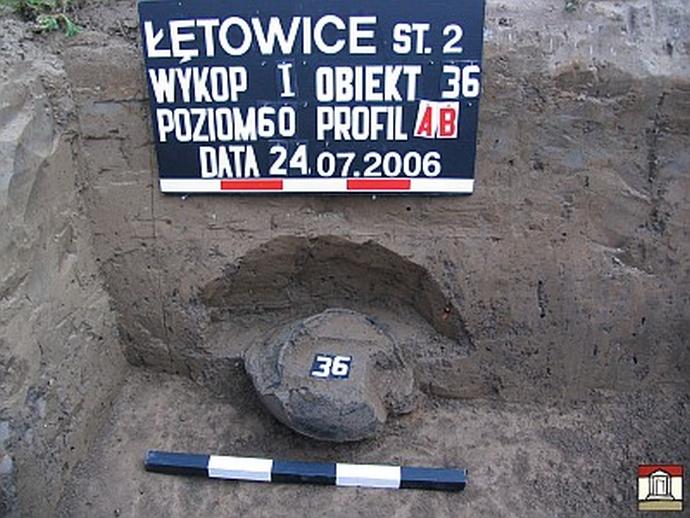 Cmentarzysko ciałopalne wŁętowicach, gm. Wierzchosławice, pow. Tarnowski, woj.Małopolskie