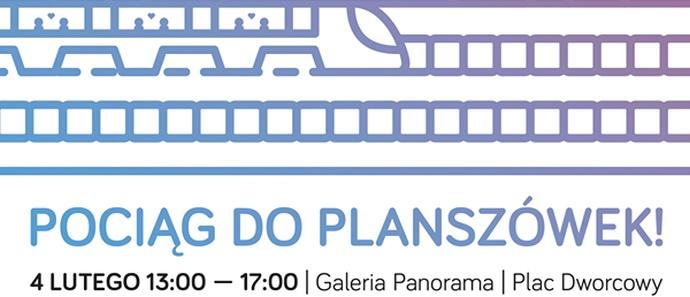 """Fundacja Aspiranci serdecznie zaprasza 4 lutego do Galerii """"Panorama"""" na kolejne spotkanie przy grach planszowych"""