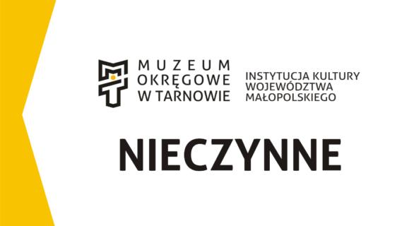 1 listopada Muzeum nieczynne