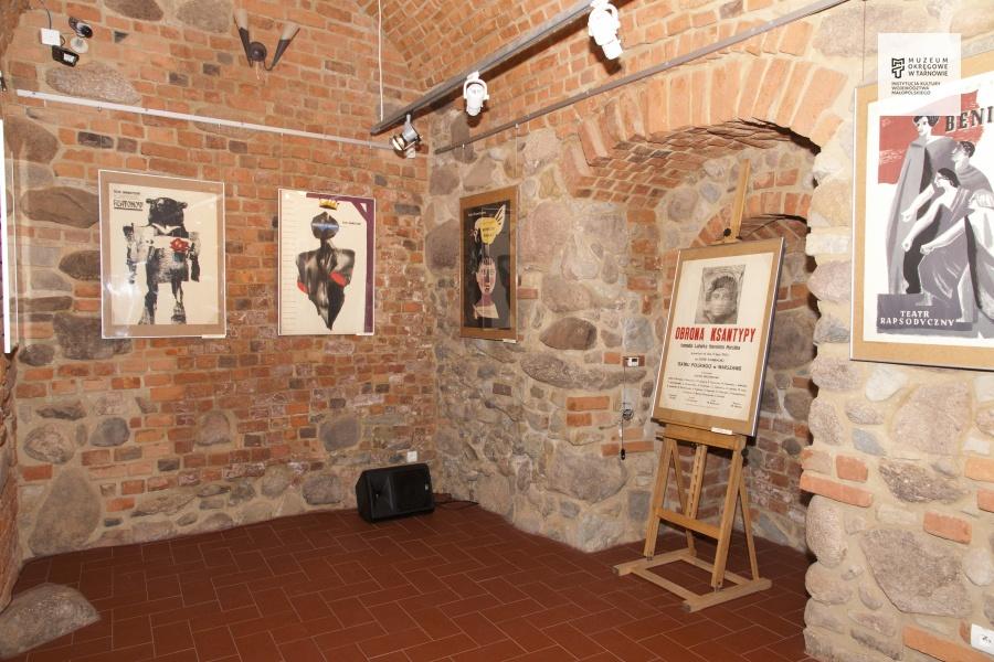 Plakaty teatralne wzbiorach Muzeum Okręgowegow Tarnowie