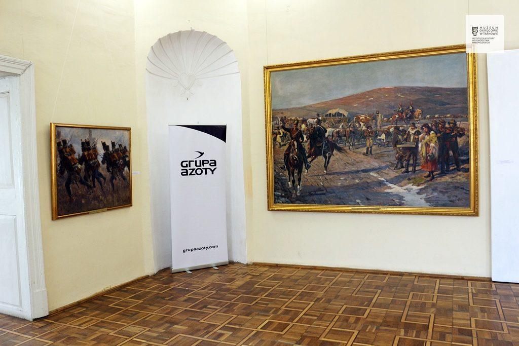 """Fragmenty """"Panoramy Siedmiogrodzkiej"""" w Użhorodzie na Ukrainie"""