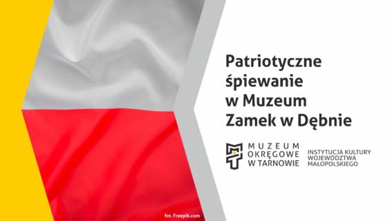 Patriotyczne śpiewanie wMuzeum Zamek wDębnie [FOTO, WIDEO]