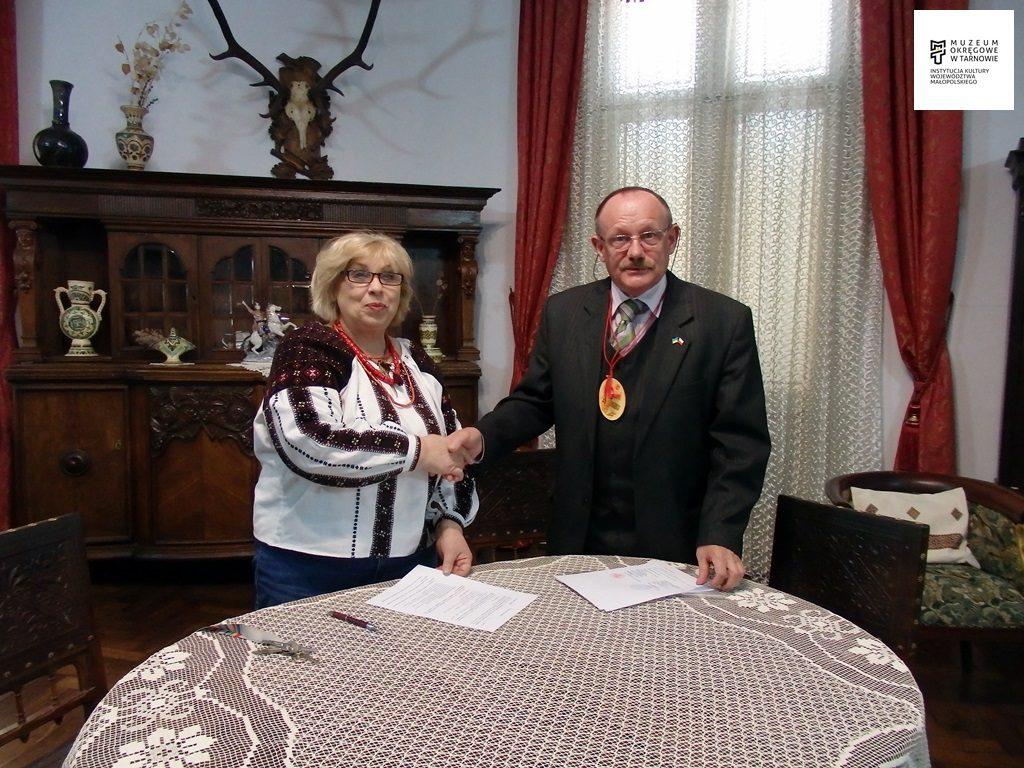 Współpraca z muzeum w Kołomyi na Ukrainie [FOTO]