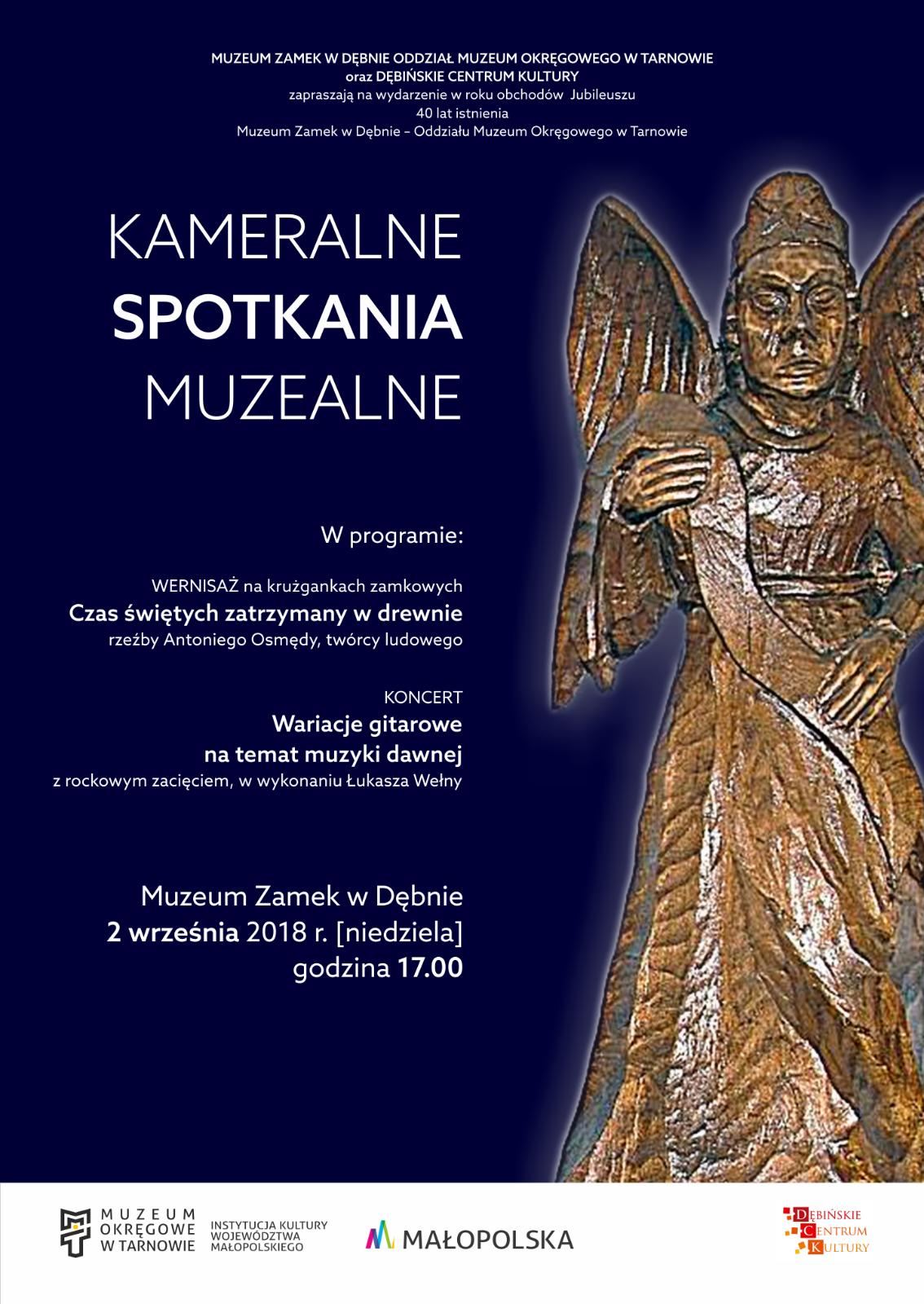 plakat_kameralne spotkania muzealna
