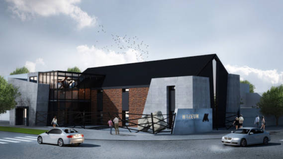 Modernizacja iadaptacja budynku pokoszarowego nacele Regionalnego Centrum Edukacji oPamięci