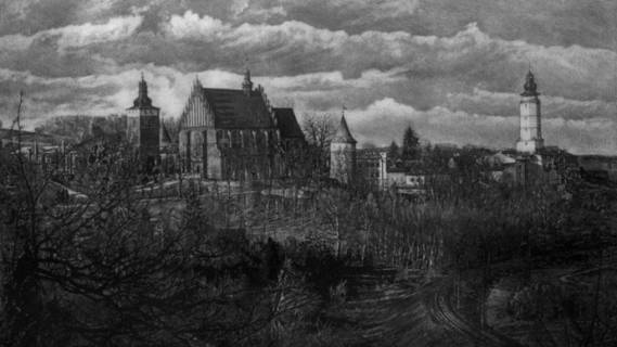 """Jarosław Jędrzejowski – """"Architektura Dolnego Śląska i południowej Małopolski w mezzotincie"""""""