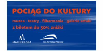 """logo akcji """"Pociąg dokultury"""""""