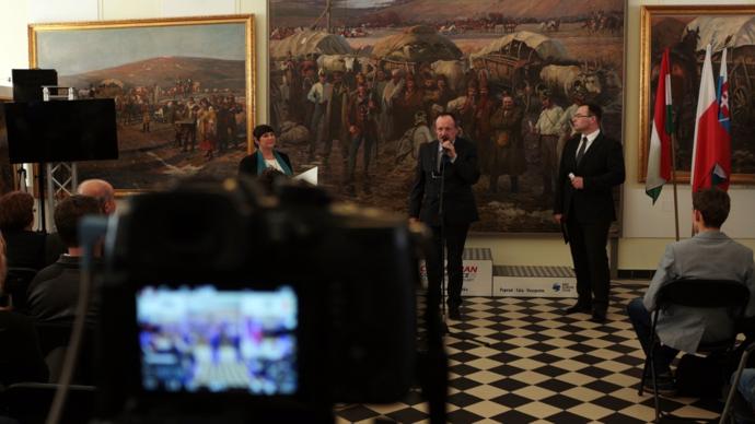 """Karpacki Wyścig Kurierów – konferencja wGalerii """"Panorama"""""""
