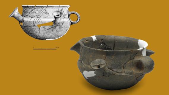Galeria Jednego Obiektu – kernos – niezwykłe naczynie sprzed 2700 lat