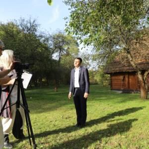 plan zdjęciowy filmu edukacyjnego oKrakowiakach Wschodnich