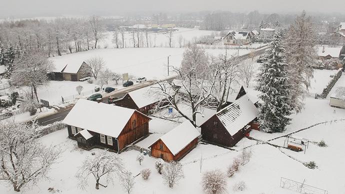Muzeum Wincentego Witosa zimą [ZDJĘCIA]