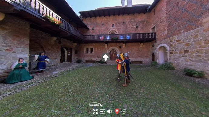 Zwiedzaj wirtualnie zamek wDębnie