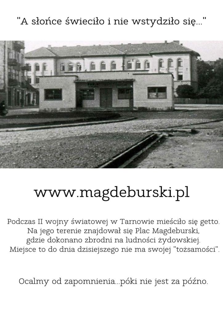 plakat projektu magdeburski.pl