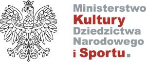 Ministerstwo Kultury, dziedzictwa Naroidowego iSportu - logo