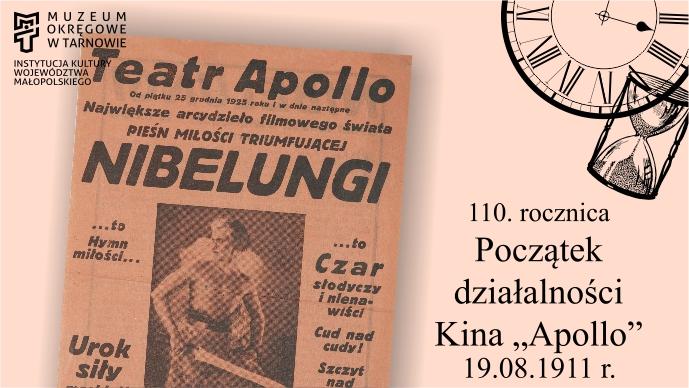 "110. rocznica uruchomienia Kina ""Apollo"""