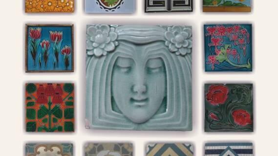 Wzory wkwadracie zamknięte –  ceramiczne zdobienia wnętrz zprzełomu XIX iXX wieku [zdjęcia]